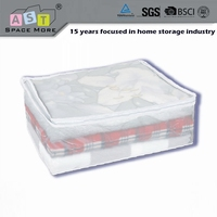 First-class quality lower price PEVA plastic blanket storage bag