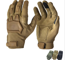 Men Outdoor Sports Military Special Forces Full Finger Gloves Antiskid Bicycle Gloves Wearable Gym Gloves