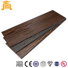 Waterproof Fiber Cement Lap Siding Cedar Wood Imitation Exterior Wall Siding