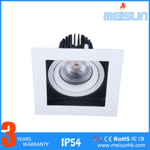 New mini led projector Narrow Beam Adjustable Downlight 7W Square with Lens