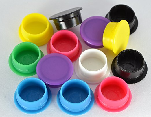 BULK STOCK!7 Colors Aromatherapy Essential Oil Blank Nasal Inhaler Tubes Bottles