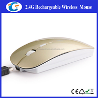 ultra slim rechargeable wireless mouse