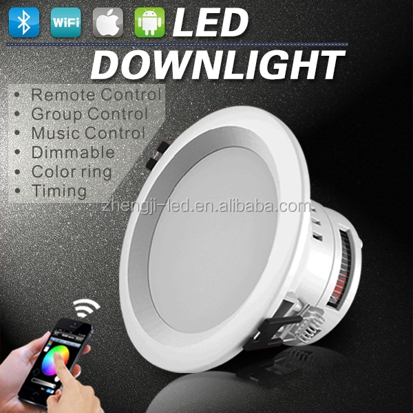 china hot product,rgb bluetooth wifi controller for cob led downlight