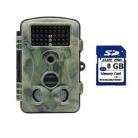 1080P HD 120 Degree Ip54 Waterproof Hunting Trail Scouting Camera with 42 Pcs IR Leds for Night Vision