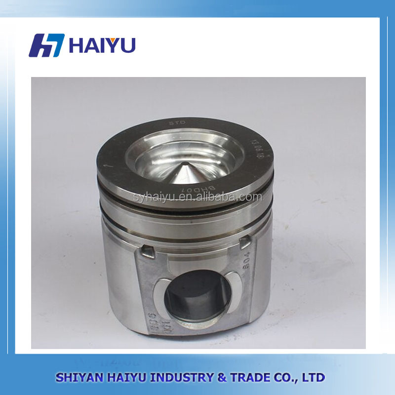 Locomotive diesel engine parts forged steel piston 5255257