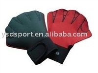 colorful neoprene swimming glove
