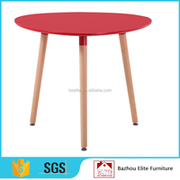 Wholesale 90cm wooden restaurant dining table
