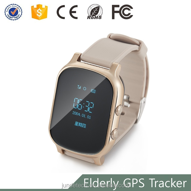 Power saving elderly gps alzheimer's watch with real time gps tracking,Security area alarm