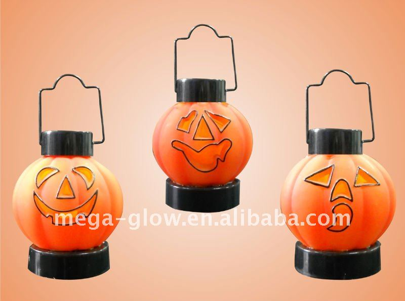 wholesale halloween pumpkin led lantern