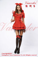 Newest party sexy queen funny cosplay costumes for manufacture 3025
