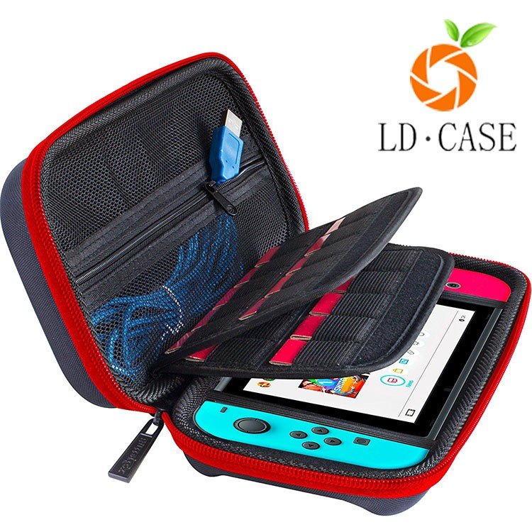 Newest design EVA premium game player case for nintendo switch