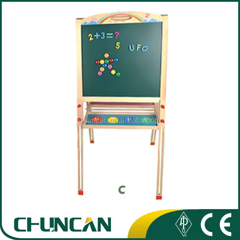 Chuncan Hot Sale Kids Wooden Magnetic Drawing Board