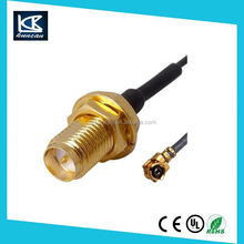 RF cable assembly pigtail cable with sma female connector