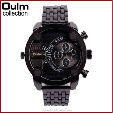 2015 New Arrival oulm wholessale price nice time watch product for young people