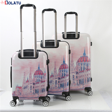 2017 hot promotional cheap lightweight 20 inch trolley travel luggage suitcase with soft handle