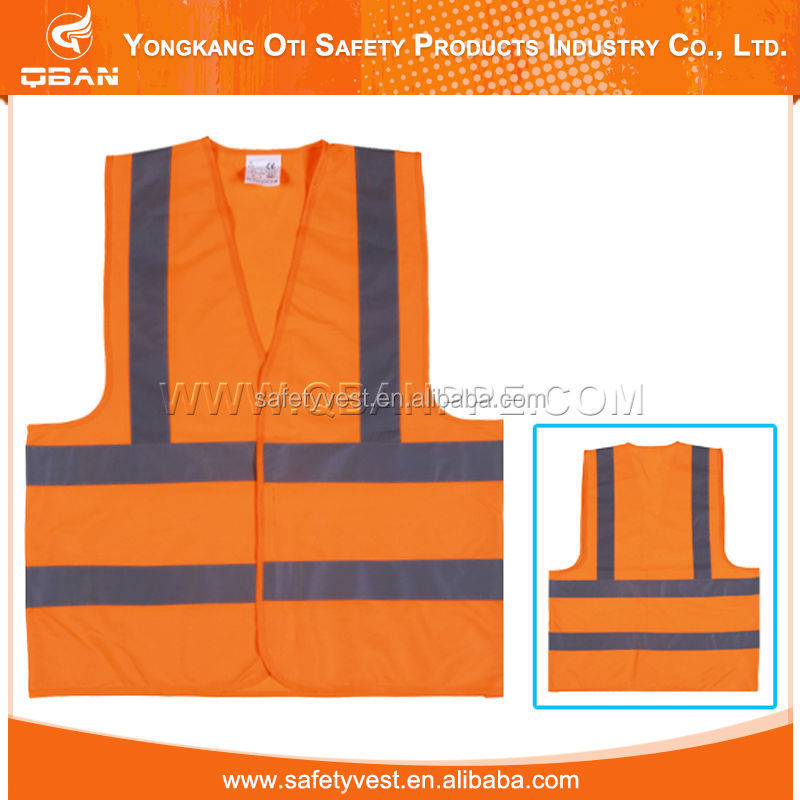 High quality Reflective high visibility safety vest