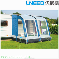 UNEED Caravan Awning Fabric for 2017 Mobile life Caravan Awning/RV side Retractable Awning/Car Camping Sunshade