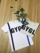 European style Cheap Kid clothing Simple Comfortable Summer short sleeve baby boy T- shirts Fancy boys clothing
