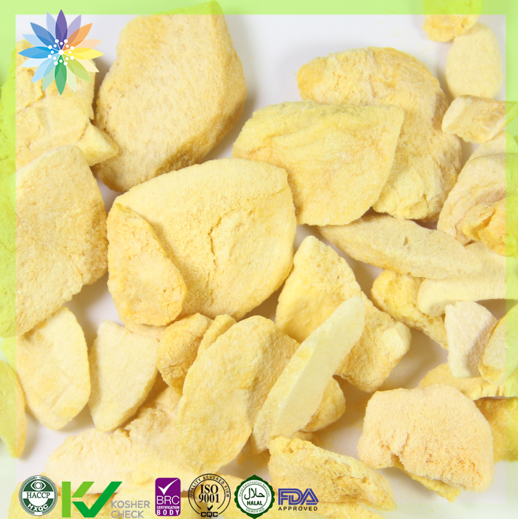freeze dried fruit fd yellow peach