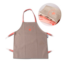Customizing kids painting waterproof apron