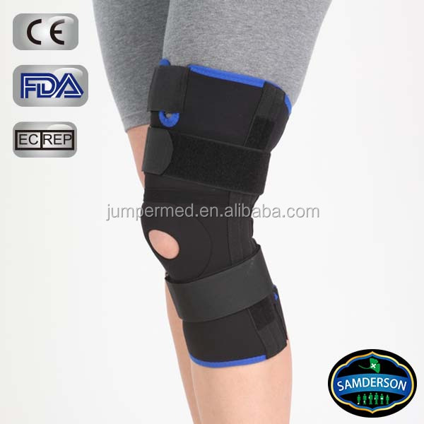 Stabilized Open easy wearing functional Knee support with Patella area open design