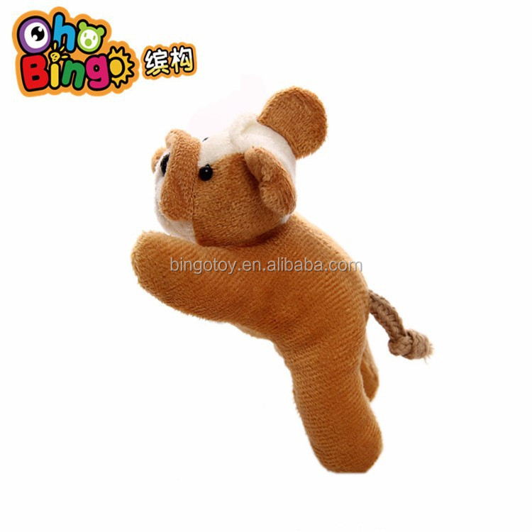 Lovely Plush Dog Animal 3D Souvenir Magnet Fridge Magnet