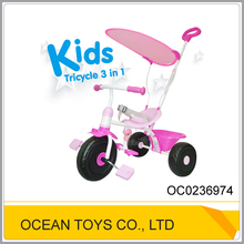 Plastic 3 in 1 plastic wholesale baby tricycle OC0236974