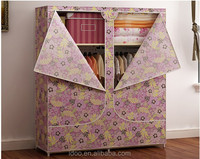 Modern fabric folding cupboard/ small cupboard/ kitchen cupboards