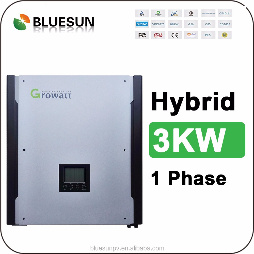 Bluesun design best price 3kw hybrid mobile home solar system with inverter