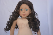 Eco friendly doll wig remy/toy doll wigs human hair/doll wig in toys