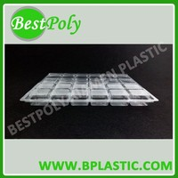 Environment food grade PET blister tray for chocolate candy