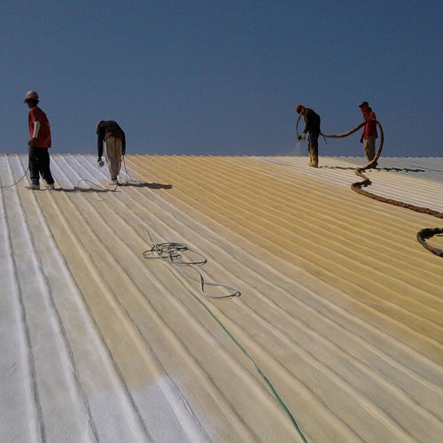 Ecofoam Spray Insulation Foam