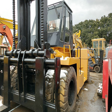 TCM FD250SZ6 25ton used 100% JAPAN ep forklift in shanghai for sale