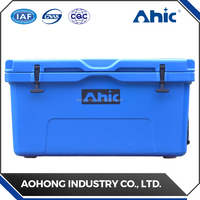 Fashionable disposable 90QT ice cooler box / trolley ice box