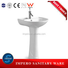sanitary ware copper brass wash basin