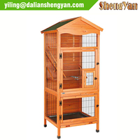 Custom wooden bird cage for sale