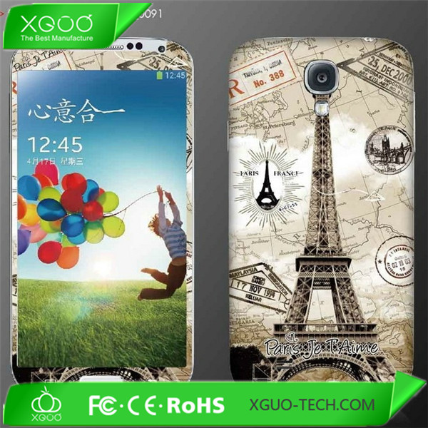 body sticker for samsung galaxy s4 i9500 cover