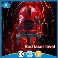 5 lines free rotary automatic leveling professional vertical horizontal laser level