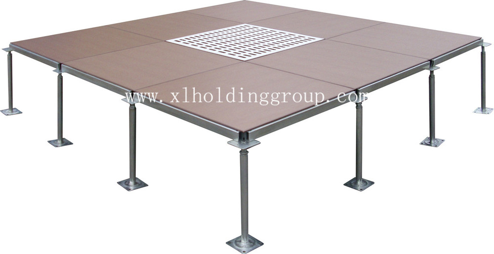 Server Room Flooring Materials And Detail : Antistatic steel raised access floor system for server