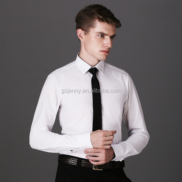 New Fashion Casual Long Sleeve Business Formal Dress Shirts for Men