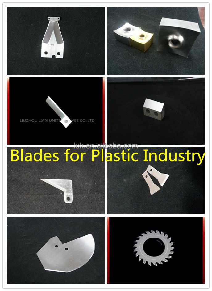 Erema pelletizer blades/Knife for plastic recycling