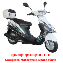 QINGQI QM48QT-8(I)C Complete Motorcycle Spare Parts