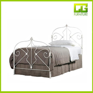 Modern adult metal day beds frame wrought iron day bed