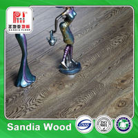 E1 Non Slip Water Resistance Laminate Flooring / Reliable Quality Manufacturer Cheap Laminated Wood Pvc Floor