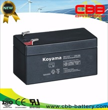 Automatic Rechargeable Lead Acid LED Battery 1.3ah 12V