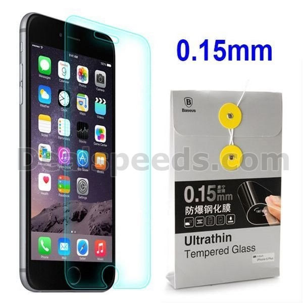 Baseus 0.15mm Professional Screen Guard Ultrathin Tempered Glass Film for iPhone 6 Plus 5.5 inch