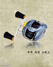 GRAPHITE BODY FISHING CASTING REEL ONE WAY CLUTCH SYSTEM EVA NOB AND RUBBER KNOB AVAILABLE