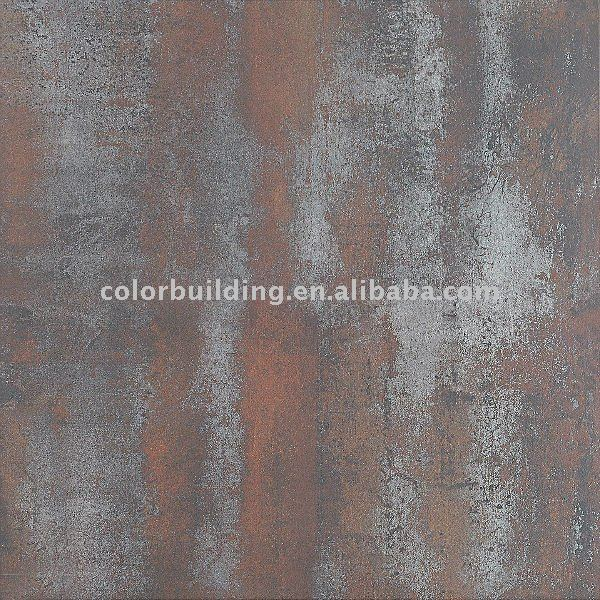 Piastrelle metalliche in porcellana rosso piastrelle di - Piastrelle metalliche ...