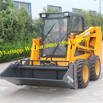 China bobcat skid loaders for construction