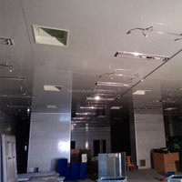 ISO modular hepa filter clean room, cleanroom partitions
